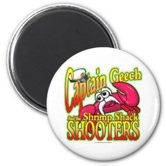 Captain Geech 2 Inch Round Magnet
