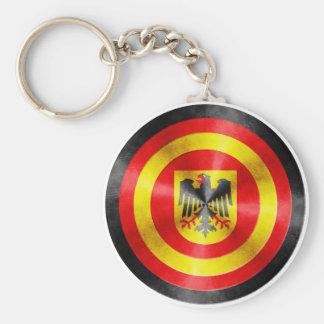 Captain Germany Hero Shield Keychains
