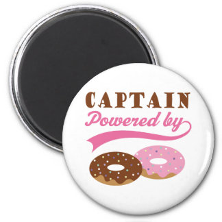 Captain Gift Donuts Magnet