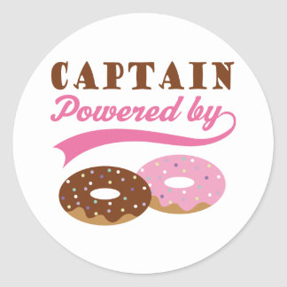 Captain Gift (Donuts) Stickers