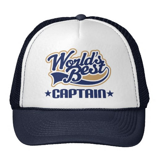 Captain Gift Trucker Hat