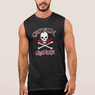 Captain Grandpa Sleeveless Shirt
