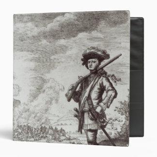 Captain Henry Morgan at the sack Binder
