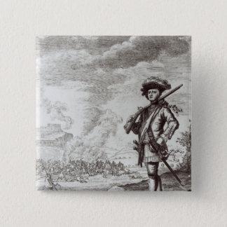 Captain Henry Morgan at the sack Button