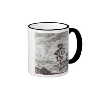Captain Henry Morgan at the sack Ringer Mug