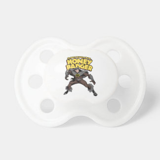 Captain Honey Badger Don t Care Baby Pacifiers