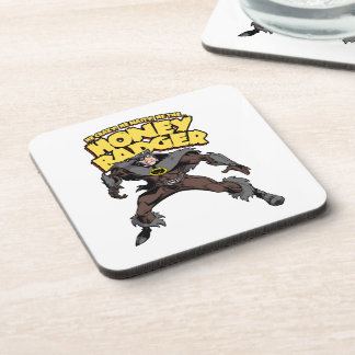 Captain Honey Badger Don't Care Drink Coasters
