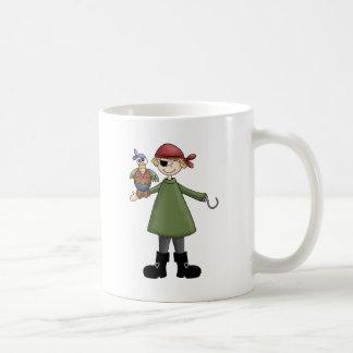 Captain Hook Classic White Coffee Mug