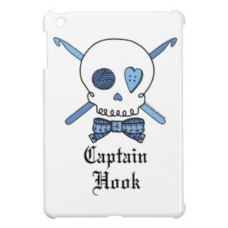 Captain Hook Skull & Crochet Hooks (Blue) Cover For The iPad Mini