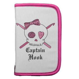 Captain Hook Skull & Crochet Hooks (Pink) Planners