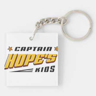 Captain Hope Bear Keychain