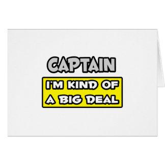 Captain I m Kind of a Big Deal Cards