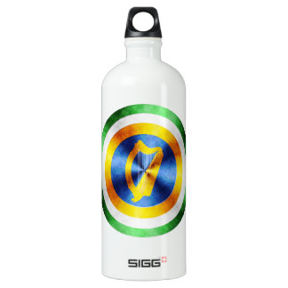 Captain Ireland Hero Shield Aluminum Water Bottle