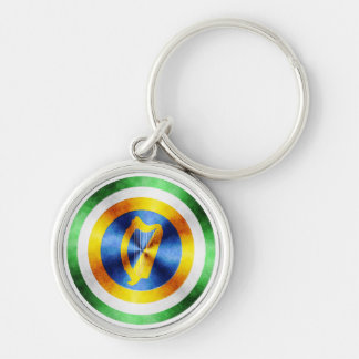 Captain Ireland Hero Shield Keychain
