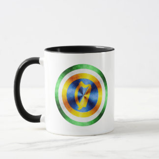 Captain Ireland Hero Shield Mug