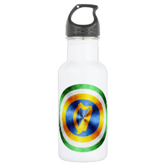 Captain Ireland Hero Shield Stainless Steel Water Bottle
