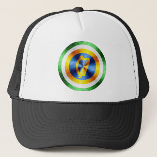 Captain Ireland Hero Shield Trucker Hat