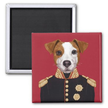 Captain Jack Russell Magnet