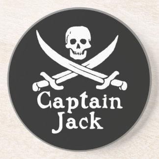 Captain Jack Sandstone Coaster