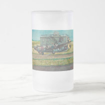 Captain Jack Swayze Frosted Glass Beer Mug