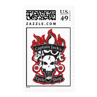 Captain Jacks Cycle Shop Stamps