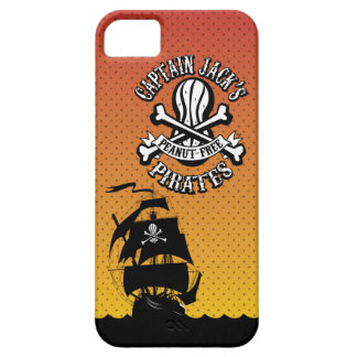 Captain Jack's Peanut-Free Pirates iPhone 5 Case