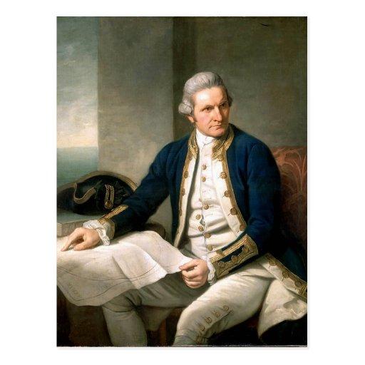 Captain James Cook Postcard