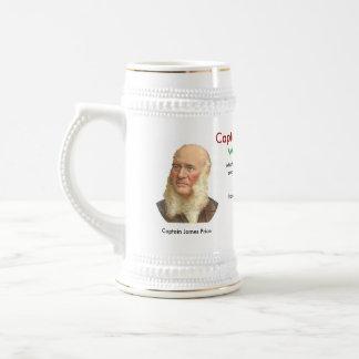 Captain James Price Toasting Stein Coffee Mug