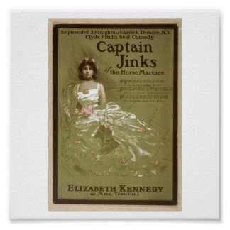 Captain Jinks of the Horse Marines 1902 Poster