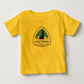 Captain John Smith Chesapeake Trail Baby T-Shirt