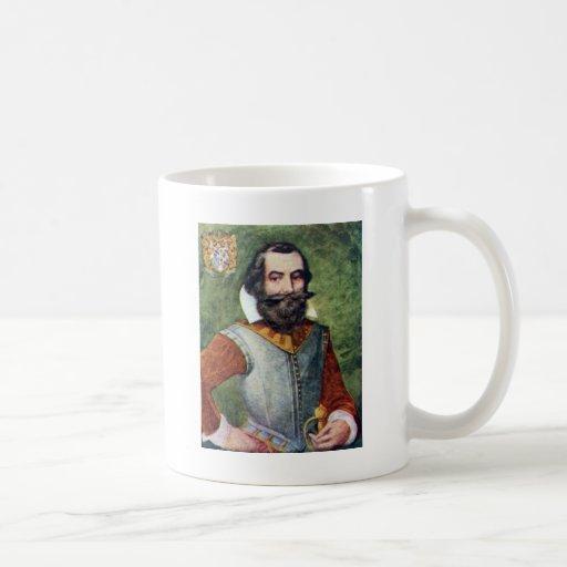 Captain John Smith Jamestown Colony Coffee Mugs