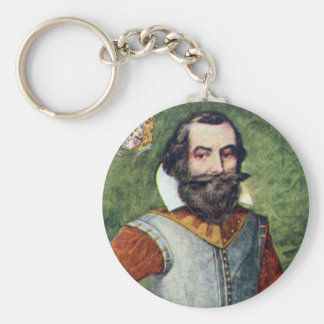 Captain John Smith Jamestown Colony Keychain