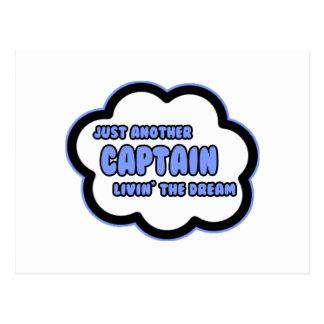 Captain Livin The Dream Postcards