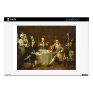 Captain Lord George Graham by William Hogarth Skins For Laptops