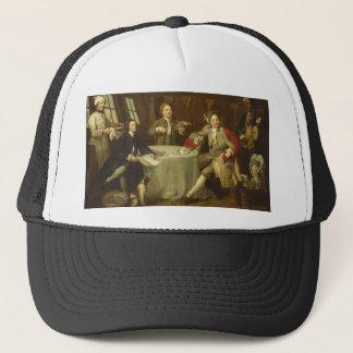 Captain Lord George Graham by William Hogarth Trucker Hat