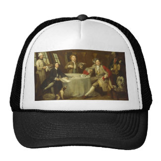 Captain Lord George Graham by William Hogarth Trucker Hat