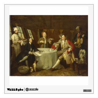 Captain Lord George Graham by William Hogarth Wall Decal