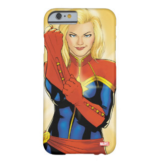 Captain Marvel Fitting Glove Barely There iPhone 6 Case