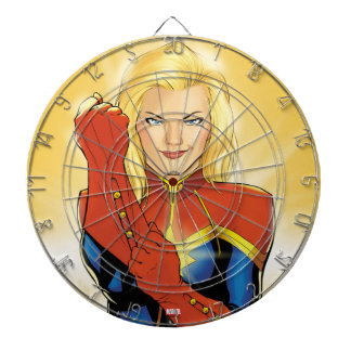 Captain Marvel Fitting Glove Dart Board