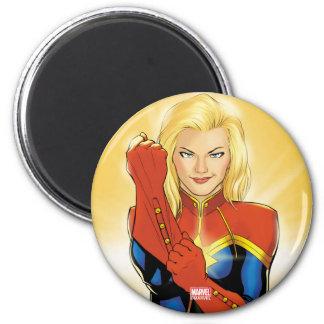 Captain Marvel Fitting Glove Magnet