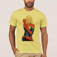 Captain Marvel Fitting Glove T-Shirt