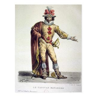 Captain Matamore Postcard
