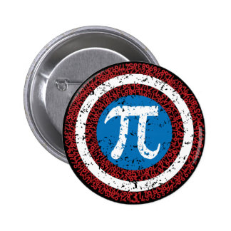 Captain Maths Pinback Button