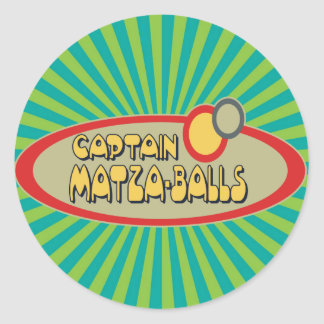 Captain MATZA BALLS Stickers