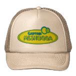 CAPTAIN MESHUGGA ( Crazy ) - Funny Yiddish humor Trucker Hat
