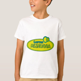 CAPTAIN MESHUGGA ( Crazy ) - Funny Yiddish humor T-Shirt