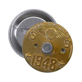 Captain Midnight Decoder Badge 1948 Pinback Button