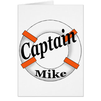Captain Mike Gear Greeting Cards