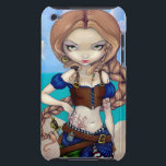 "&quot;Captain Molly Morgan&quot; iPod Touch Case<br><div class=""desc"">Captain Molly Morgan! Having just come back from the Caribbean myself (I spend a lot of my time playing pirate!), I was inspired to create this new series of Pirate Girls. Please meet the first - &quot;Captain Molly Morgan&quot; - very feisty, a little tough, and absolutely adorable - she stands...</div>"