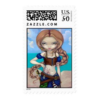 """Captain Molly Morgan"" Stamp"